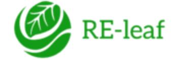 Logo for RE-Leaf