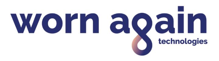Logo for Worn Again Technologies